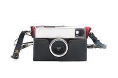 Rocznik kamera z rzemienną skrzynką Obraz Royalty Free