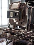 Rocznik kamery zakończenie up Zdjęcie Stock