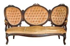 Rocznik kanapa zdjęcie stock