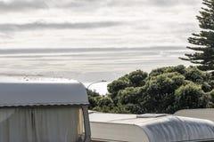 Rocznik karawany W NZ obraz royalty free