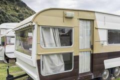 Rocznik karawany W NZ zdjęcie royalty free