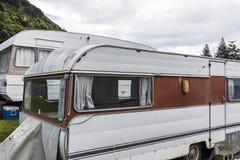 Rocznik karawany W NZ zdjęcia stock
