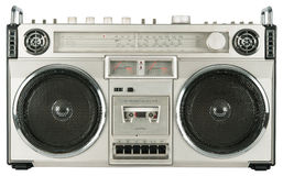 Rocznik kasety radiowy pisak Zdjęcie Stock