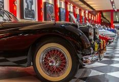 Rocznik Klasyczny Jaguar obrazy royalty free