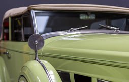 Rocznik Klasyczny Packard Fotografia Stock