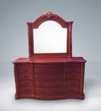 Rocznik klatka piersiowa kreślarzi z lustrem Zdjęcie Royalty Free