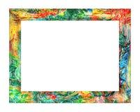 Rocznik kolorowa rama Zdjęcia Stock