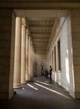 Rocznik kolumn architektura Antyczna świątynia Zdjęcie Royalty Free