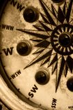 rocznik kompas Zdjęcia Royalty Free