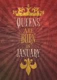 Rocznik królowych korony sylwetka Motywaci wycena Zdjęcia Royalty Free