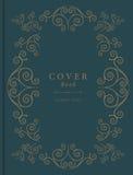 Rocznik książkowa pokrywa również zwrócić corel ilustracji wektora Obrazy Royalty Free