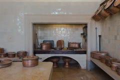 Rocznik kuchni wnętrze Obrazy Stock