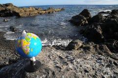 Rocznik kul ziemskich planety ziemia Obrazy Stock