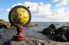 Rocznik kul ziemskich planety ziemia Obraz Royalty Free