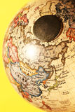 Rocznik kula ziemska obrazy royalty free
