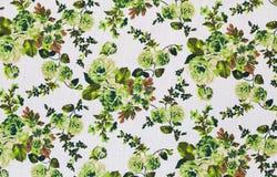 Rocznik kwiecisty, kwitnie bezszwowego deseniowego tło Obraz Royalty Free
