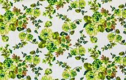 Rocznik kwiecisty, kwitnie bezszwowego deseniowego tło Zdjęcia Stock