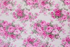 Rocznik kwiecisty, kwitnie bezszwowego deseniowego tło Zdjęcie Royalty Free