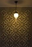 rocznik lampowa ściana Obraz Stock