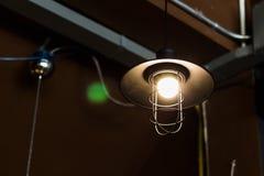 Rocznik lampy obwieszenie Obraz Stock