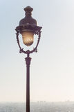 Rocznik latarnia uliczna na Montmartre Fotografia Stock
