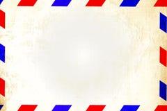 Rocznik lotniczej poczta koperta ilustracji