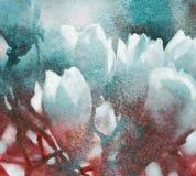 Rocznik magnolia Zdjęcia Royalty Free