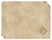rocznik mapa zdjęcie royalty free