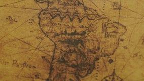 Rocznik mapa Ameryka Południowa regiony zbiory
