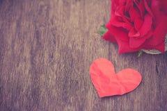 Rocznik miłość Zdjęcia Stock