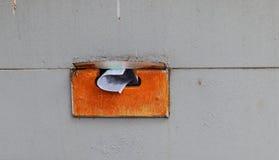 Rocznik mieszkaniowa skrzynka pocztowa Zdjęcie Stock