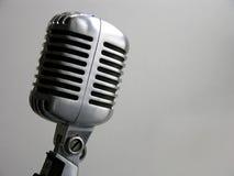 rocznik mikrofonu Zdjęcie Stock