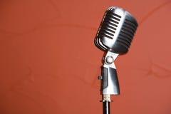 rocznik mikrofonu Zdjęcie Royalty Free