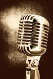 rocznik mikrofonu Obrazy Stock