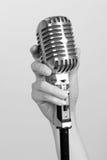 rocznik mikrofonu Fotografia Royalty Free