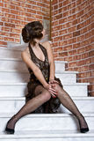 rocznik mody Fotografia Royalty Free