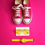 Rocznik mody girly rzeczy Zdjęcie Royalty Free