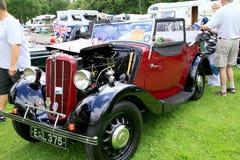 Rocznik 1938 Morris 8 serii 2 Obrazy Stock
