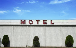 rocznik motelu Obrazy Stock