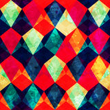 Rocznik mozaiki bezszwowy wzór Obraz Stock