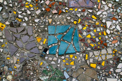 Rocznik mozaiki wzór Fotografia Royalty Free