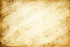 rocznik muzyki. Obrazy Stock