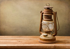 Rocznik nafty lampa Obraz Royalty Free