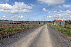 Rocznik nieruchomości Vicuna w Tierra Del Fuego zdjęcia royalty free