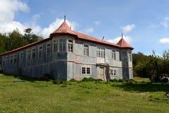 Rocznik nieruchomości Vicuna w Tierra Del Fuego obraz stock
