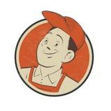 Rocznik odznaka mechanik Zdjęcie Royalty Free