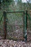 Rocznik Ogrodowa brama Obraz Royalty Free