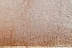 Rocznik papier textured powierzchnia Brown koloru żółtego pusta pokrywa pusty brezentowy makro- widok Obraz Stock