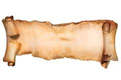 Rocznik papierowa ślimacznica odizolowywająca na bielu Zdjęcie Royalty Free