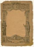 rocznik papieru ilustracji